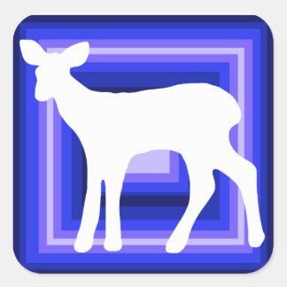 Etiquetas do feriado dos cervos da gama