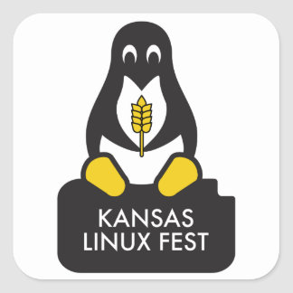 Etiquetas do Fest de Kansas Linux
