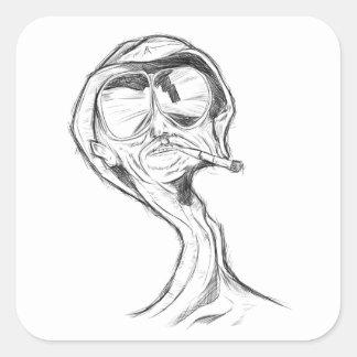 Etiquetas do fumador