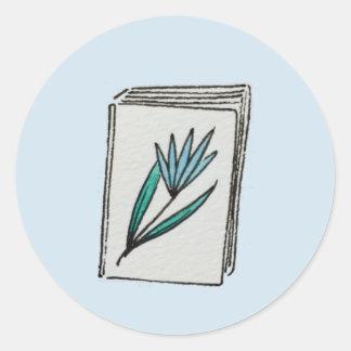 Etiquetas do livro do lírio