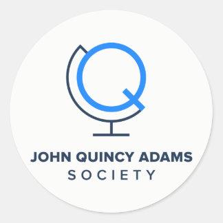 Etiquetas do logotipo da sociedade de JQA