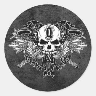 Etiquetas do logotipo de O'Kane (redondas) Adesivo