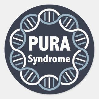 Etiquetas do logotipo de PURA (6 por a página)