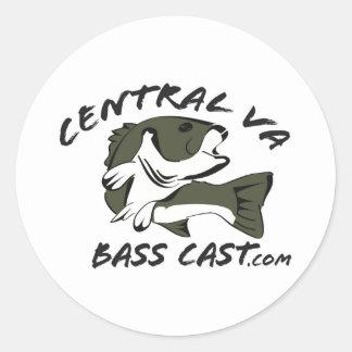 Etiquetas do logotipo dos peixes de CVBC Adesivos