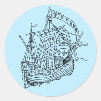 Etiquetas do navio de navigação do vintage