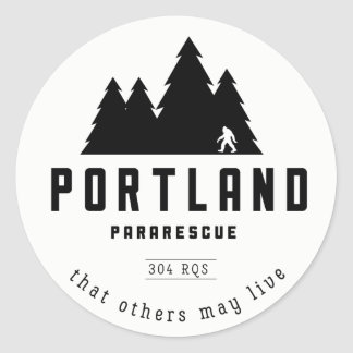 Etiquetas do Pararescue de Portland