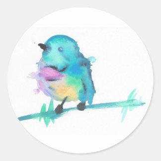 Etiquetas do pássaro