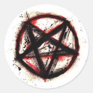 Etiquetas do Pentagram, folha de 6