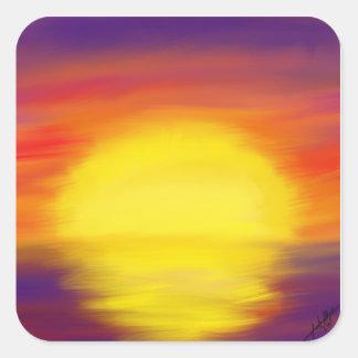 Etiquetas do por do sol