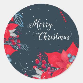 Etiquetas do presente do Feliz Natal