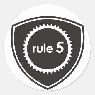 Etiquetas do protetor Rule5