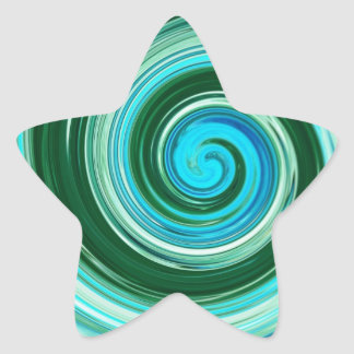 Etiquetas do redemoinho do mar adesito estrela
