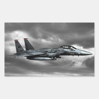 Etiquetas do retângulo de Eagle da greve de F-15E