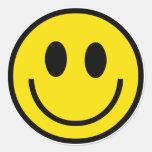 Etiquetas do smiley face adesivos