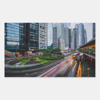 Etiquetas do tráfego de Hong Kong