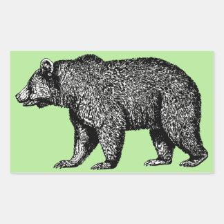 Etiquetas do urso