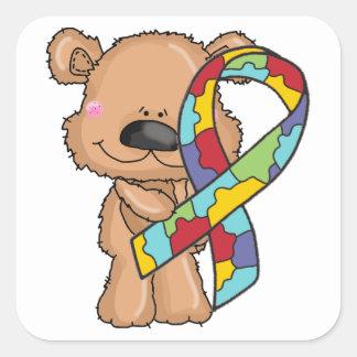 Etiquetas do urso da fita da consciência do