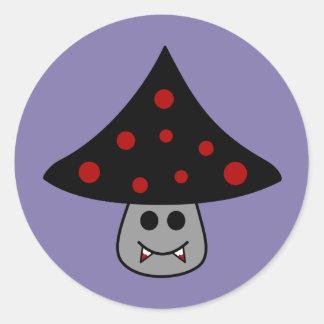 Etiquetas do vampiro do cogumelo