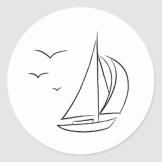Etiquetas do veleiro