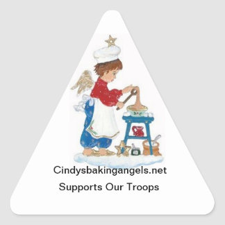 Etiquetas dos anjos do cozimento de Cindy!