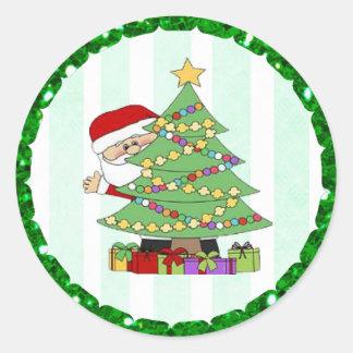 Etiquetas dos desenhos animados da árvore de Papai
