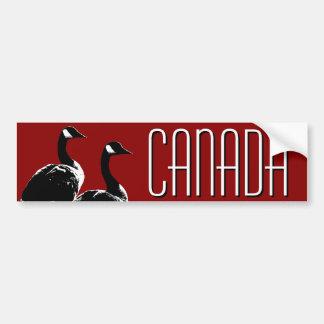 Etiquetas dos gansos de Canadá do autocolante no v Adesivo Para Carro