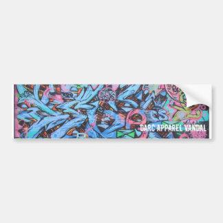Etiquetas dos grafites adesivos