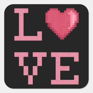 Etiquetas dos pixéis do amor