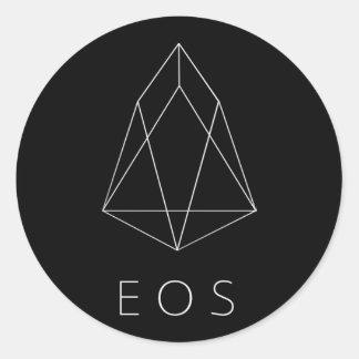 Etiquetas escuras clássicas do título do EOS