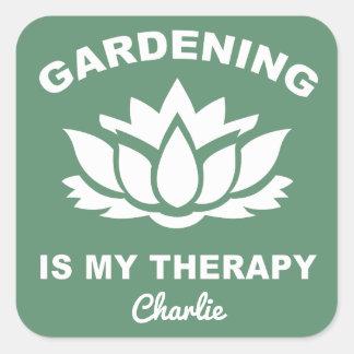 Etiquetas feitas sob encomenda de jardinagem do