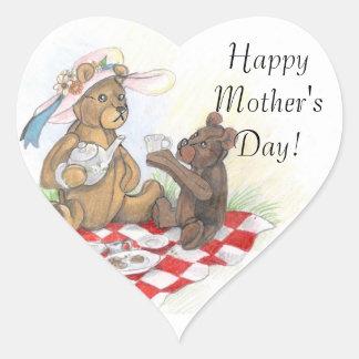 Etiquetas felizes do dia das mães de Picnic~ do