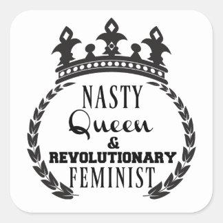 Etiquetas feministas revolucionárias