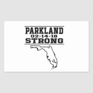 Etiquetas fortes do tiro de escola de Parkland