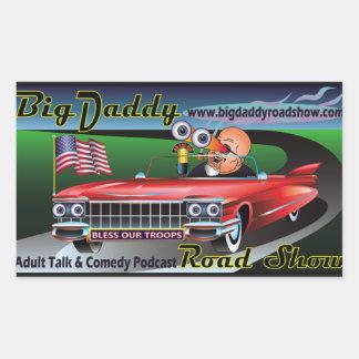 Etiquetas grandes do Podcast da mostra de estrada