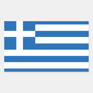 Etiquetas gregas da bandeira