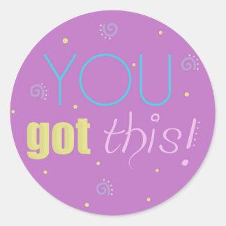 Etiquetas inspiradas - rosa - você obteve este!