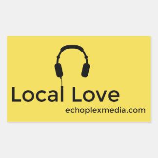 Etiquetas locais do amor!