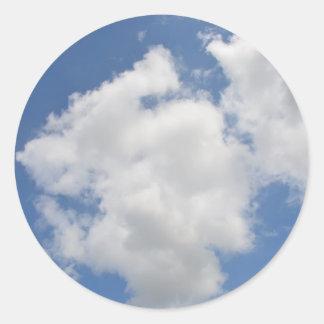 Etiquetas lunáticas da nuvem