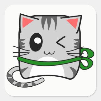 Etiquetas minúsculas do gato