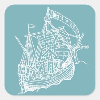 Etiquetas náuticas do navio de navigação