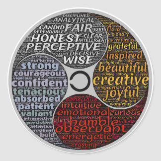 Etiquetas novas da idade das palavras inspiradas