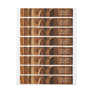 Etiquetas O cedro Textured o olhar de madeira do latido