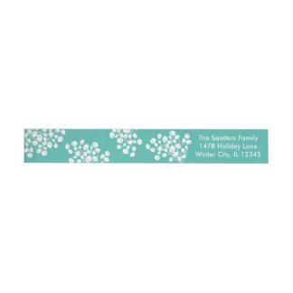 Etiquetas Para Envelope Bagas do inverno