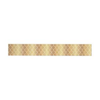 Etiquetas Para Envelope O vintage, ouro, damasco, floral, teste padrão,