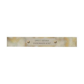 Etiquetas Para Envelope Ouro & mármore de Tan