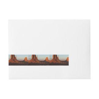 Etiquetas Para Envelope Vale do monumento, Colorado