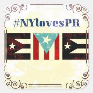 Etiquetas pequenas do #NYLovesPR
