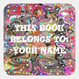 Etiquetas personalizadas Homeschool do livro da
