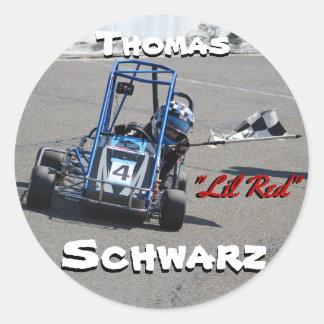 Etiquetas personalizadas Schwarz de Thomas