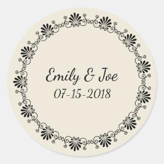 Etiquetas personalizadas Wedding